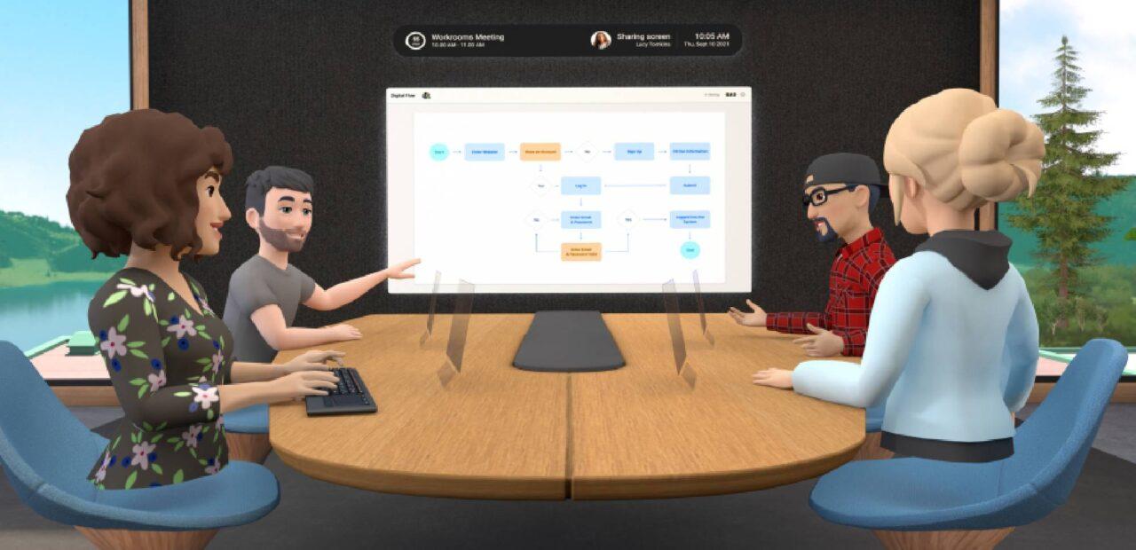Facebook da su primer paso al 'metaverso' con app de trabajo remoto en realidad virtual - imagen destacada
